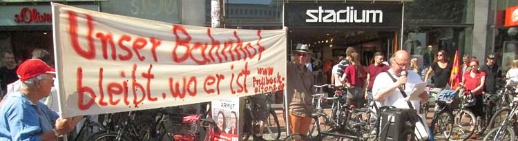 2. Altonaer Fahrraddemo – Stadt geht auch anders!
