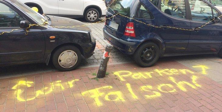 Falschparker-Aktionswoche
