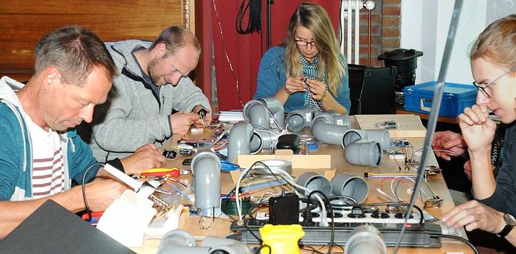 Erster Workshop zum Bau eigener Feinstaubsensoren