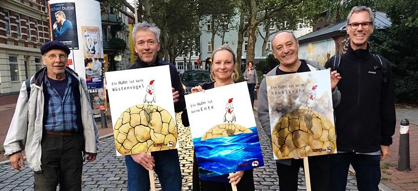 OTTENSER GESTALTEN unterstützen Fridays for Future mit einer Plakatserie